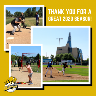 Baseball Manitoba 2020 Season Thank You Message Promo Image