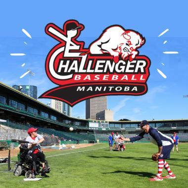 Manitoba Challenger Baseball Promo Photo